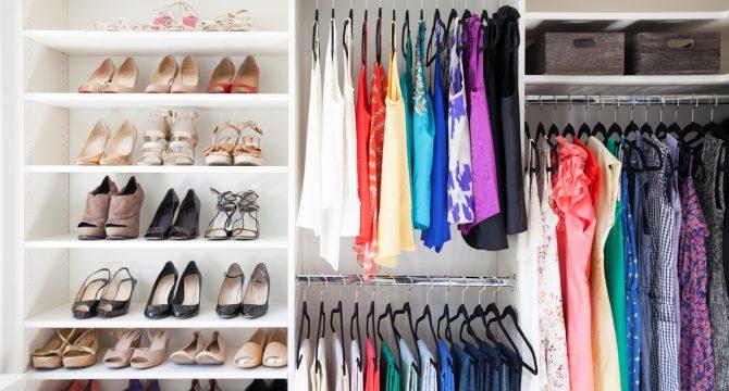 Tips para tener un closet ordenado | Ciclón Ecuador